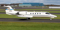 84-0085 (PrestwickAirportPhotography) Tags: egpk prestwick airport usaf united states air force learjet c21a 840085 86aw ramstein mobility wing