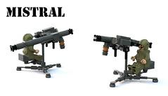 Mistral MANPAD (Matthew McCall) Tags: lego moc military army missile manpad mistral france french