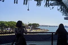 L1000069 (manolosavi) Tags: leica summilux 35mm m10 california sandiego people girl outside nature sea boat ussmidway