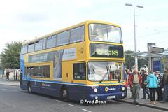 Dublin Bus AX615 (06D30615). (Fred Dean Jnr) Tags: busathacliath dublin dublinbusroute145 dublinbus dbrook volvo b7tl alexander dennis alx400 ax615 06d30615 heustonstationdublin september2015 dublinheustonstation dublinbusyellowbluelivery