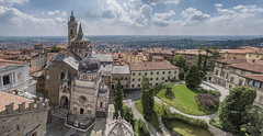 599488486 (travel_expert) Tags: bergamo travel buildingexterior catholicism facade basilica santaclaus religion history ancient old famousplace architecture urbanscene italy europe cathedral church monument town mariamezcal addolorata