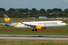 D-ATCD Airbus A321-200 Condor Flugdienst I Love Sentido DUS 2018-09-01 (3a) (Marvin Mutz) Tags: datcd condor flugdienst de cfg i love ♥ sentido special livery sonderlackierung sonderbemalung airbus a321200 dus eddl düsseldorf international nordrheinwestfalen germany aviation planespotting avgeek aircraft airplane aeroplane plane pilot cockpit crew passenger travel transport jet jetliner airline airliner wings engines airport runway taxiway apron clouds sky flight flying landing arrival touchdown