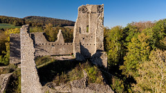RUINS III (BigOllie Pictures) Tags: landscape autumn bluesky forest nature panorama ruins spring switzerlandlandscape waterfall wildlife thalheim kantonaargau schweiz ch