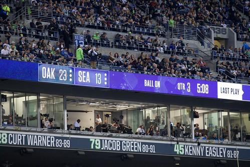 2018 Seahawks vs Raiders