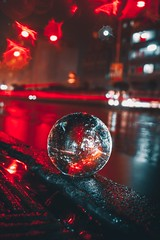 A magical rainy night with lensball (ibtihajtafheem) Tags: lensball lensballphotography crystalball crystalballphotography glassball rain rainy bokeh bokehbliss bokehlife night nightphotography nightscape nightshooters nightscaping nightcolors nightshot nightshooterz nightphotos