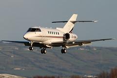 CS-DRW_03 (GH@BHD) Tags: csdrw raytheon hawker bae britishaerospace bae125 nje netjets netjetseurope europeannetjets bhd egac belfastcityairport bizjet corporate executive aircraft aviation