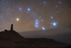 Orion over Castle Valley (Darren White Photography) Tags: nightphotography nightsky nightscapes sigmalens tiffendoublefogfilter orion moab darrenwhite darrenwhitephotography