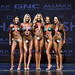 Bikini Novice 4th Hernen 2nd Goulet 1st Delaney 3rd Martin-Dumas 5th Bissig