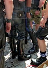 "bootsservice 18 760395 (bootsservice) Tags: paris ""gay pride"" bottes cuir boots leather motards motos motorcyclists motorbiker caoutchouc rubber weston cap top sm"