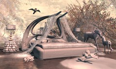 Winter Wonderland (Varosh Santanamiguel) Tags: swank event eventexclusive exclusive winter wonderland white dream halfdeer hextraordinary owl snowowl nature secondlife seconlife secondnature snow evh adult pg decor decorate homedecor homegarden interieur unicorn cat animals pet avatar mesh bento areiyon vsm