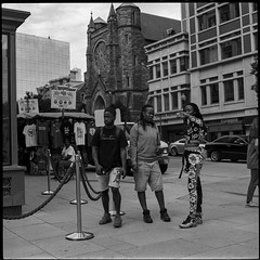 Penn Quarter (Wiley.Studio) Tags: washington districtofcolumbia street dc foma fomapan100 penn quarter mediumformat 6x6 square 120film d76 norita 66 graflex noritar