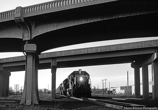 Ballast Train at Center Street