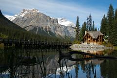 Emerald Lake (stephaniepluscht) Tags: canada british columbia national park yoho emerald lake reflection 2018 mountain mountains