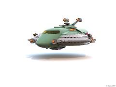 15 RETRO SPACE HERO'S SPACESHIP - Landing Gears Up (Nuno_0937) Tags: lego ideas classic space spaceship ship moc retro hero minifigure