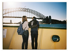 Manly Ferry ii (@fotodudenz) Tags: fuji fujifilm ga645w ga645wi medium format point and shoot film rangefinder 28mm 45mm 2018 120 sydney nsw new south wales australia kodak portra 400 manly ferry