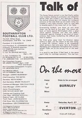 Southampton vs West Ham United - 1974 - Page 2 (The Sky Strikers) Tags: southampton west ham united football league division one the dell matchday magazine 7p