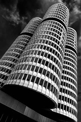 BMW Headquarter (Pentaxwolly) Tags: bmw 4zylinder skyscraper fineart munich münchen architektur