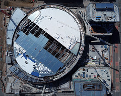 ChaseCenter - future home, Golden State Warriors (samayoukodomo) Tags: dronepointofview drone dronephotography aerialview aerialphotography quadcopter djimavicpro mavicpro takingthedroneouttogethigh birdseyeview droneview aerial