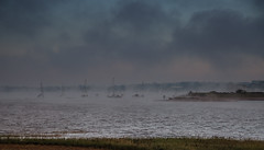 Exe Estuary (Robin M Morrison) Tags: dawlish warren river exe estuary morning mist