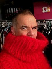 (jeremyv3) Tags: mohair red cowlneckl men'sturtlenecks fashion turtlenecks turtleneck