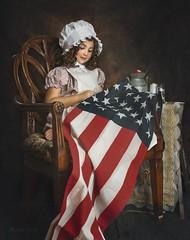 Liberty (lisset.perrier) Tags: july4th girl fineart beauty portrait studio