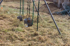 IMG_4628 (watchfuleyephoto) Tags: playground empty swings rockland state hospital psychiatric children horror scary creepy abandoned toys urbex