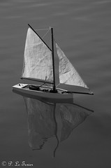 Emmenez-moi (Jardin du Luxembourg Paris) (letexierpatrick) Tags: bateau noir et blanc black white monochrome aznavour cof042dmnq cof042patr cof042mchi cof042cher