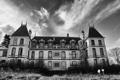 """album """"Château du Griffon d'Or"""" (steflgs) Tags: castle chateau noiretblancfrance noiretblanc bnw urbex abandoned abandonedcastle chateausocial griffondor"""