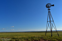 Lonely Windmill (LocalOzarkian Photography - Ozarks/ Route 66 Photo) Tags: windmill newmexico sanjonnewmexico glenrionewmexico newmexicoroute66 route66 motherroad field nm roadtrip oldroute66