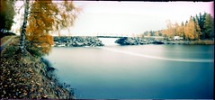 Bridge (Foide) Tags: pinhole velvia crossprocessed bridge autumn fall