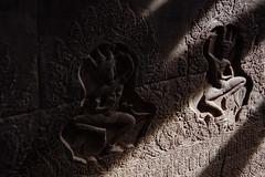 Angkor Wat – Wall carving (Thomas Mülchi) Tags: angkor siemreap cambodia 2018 siemreapprovince angkorwat wallcarving architecture krongsiemreap kh