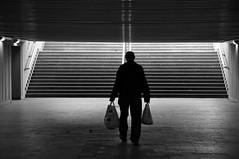 his way (rafasmm) Tags: people monochrome bw blackwhite black white underground outdoor łódź lodz poland polska europe way nikon d90 nikkor 18105 afd street streetphoto streetlife streetphotography streets
