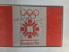 Olympic flag (Michal Kuban) Tags: bosnia hercegovina 2018 olympic flag