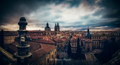 Panorámica de Salamanca (franlaserna) Tags: sun birds edition salamanca sky clouds cityscape city architecture arquitectura panorama panorámica