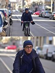 [La Mia Città][Pedala] (Urca) Tags: milano italia 2018 bicicletta pedalare ciclista ritrattostradale portrait dittico bike bicycle nikondigitale scéta 115914