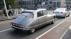 1966 Citroen DS21 (occama) Tags: dm7684 citroen ds21 1966 old car netherlands holland silver french