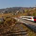 Le train digital des CFF à Bossière