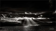 Glencoe Sunrays (petebristo) Tags: glencoe scotland