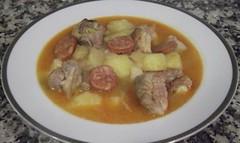 Costillas con patatas y chorizo (tone_michel) Tags: recetas de cocina