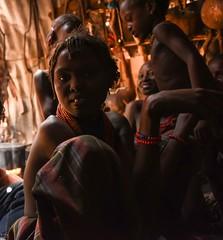 Dassanech Tribe (Rod Waddington) Tags: africa african afrique afrika äthiopien ethiopia ethiopian ethnic etiopia ethnicity ethiopie etiopian omovalley omo omoriver dassanech tribe traditional tribal people hut indoor group