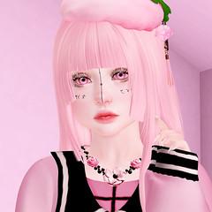 Strawberry Bae (LittleRen Resident) Tags: konpeitou rainbow sundae insomnia angel shiny shabby {s0ng} kururu lootbox girl power event catwa maitreya kiukiu michan harajuku enfer sombre kawaii cute bento second life new fashion pastel