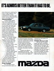 1984 HB Mazda 929 Sedan Page 2 Aussie Original Magazine Advertisement (Darren Marlow) Tags: 1 2 4 8 9 19 84 1984 h b hb m mazda 929 s sedan c car cool collectible collectors classic a automobile v vehicle j jap japan japanese asian 80s