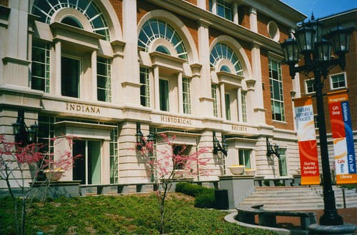Indianapolis  Indiana  - Indiana Historical Society - Downtown