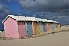 cabines de plage de Berck (Patrice de Saint André) Tags: plage mer sea été exterieur paysage ciel vacances