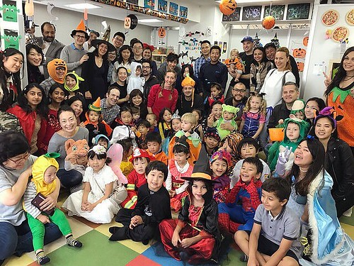 Thank you everyone for coming to our Halloween Party! We'll see you at the Christmas Party! Check out our blog with more pictures and videos on our official site. #halloween #halloweenparty #kindergarten #daycare #tokyo #shibakoen #ハロウィン #ハロウィンパーティー #保育園