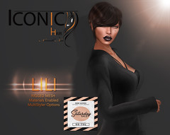 LILI_banner._SAT (Neveah Niu /The ICONIC Owner) Tags: sale secondlife saturday mesh meshhair 3dmesh 3dart mainstore