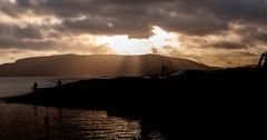 Dawn Patrol at Porlock Weir. (Nikon Caz) Tags: porlockweir clouds somerset silhouettes photographers dawn contrejour contrast sea sun coast