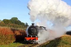 65894 - NYMR - 2018-09-29 (BillyGoat75) Tags: j27 65894 ner p3 2392 nelpg steamengine locomotive photocharter nymr northyorkshiremoorsrailway lner goathland northyorkshire autumnsteamgala