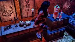 Ain't nobody got time for that. (Bria Oceanside- Venomous Designs) Tags: refuge 1313mockingbirdlane 1313 secondlife slphotography sl scene slink shadows skinnery sexy story second horror halloween christmas christmasisnotinoctober salem2018 darkstylefair virtual virtualreality woman model mutresse spooky
