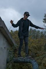 DSC_1711 (Andrea Vacanti) Tags: verde abandoned parkour man rap gangsta smoke weed rapper black swag compton
